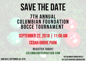 2018 Bocce Tournament @ Robert O'Toole Community Center